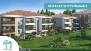 Démarrage des travaux Domaine de Bellevue à Toulon